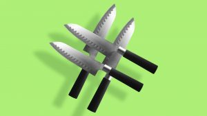Top chef steak knives