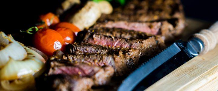 Sharp steak knife